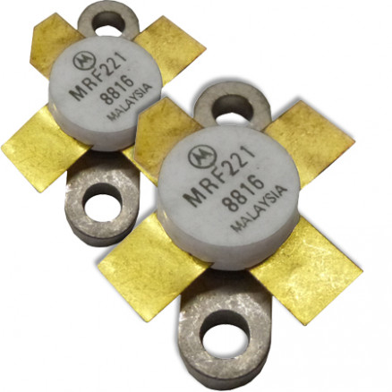 MRF221MP NPN Silicon RF Power Transistor, Matched Pair, 12.5 V, 175 MHz, 15 W, Motorola