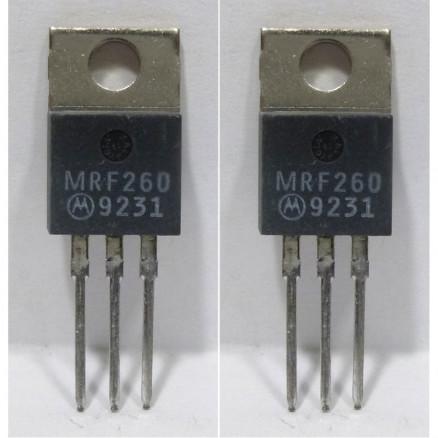 MRF260MP NPN Silicon RF Power Transistor, Matched Pair, 12.5 V, 175 MHz, 5.0 W, Motorola