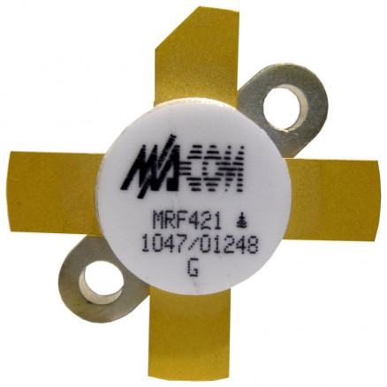 MRF421-MA NPN Silicon Power Transistor, 100 W (PEP), 30 MHz, 12 V, M/A-COM