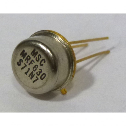 MRF630-MSC NPN Silicon RF Power Transistor, 12.5 V, 470 MHz, 3.0 W, Microsemi