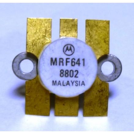 MRF641-MOT NPN Silicon RF Power Transistor, 12.5 V, 470 MHz, 15 W, Motorola