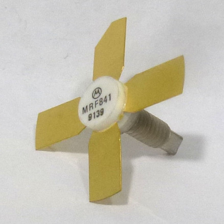 MRF841 NPN Silicon RF Power Transistor, 12.5 V, 870 MHz, 10 W, Motorola