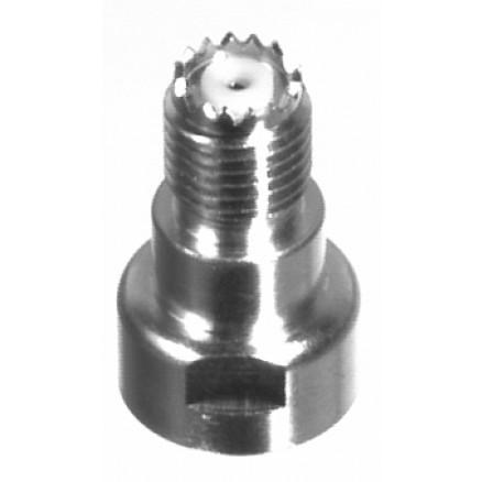 PT4000-008 Mini-UHF Female Unidapt Connector