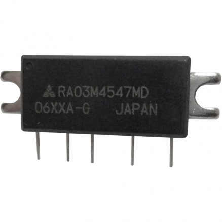 RA03M4547MD, RF Power Module, 450-470 MHz, 2 Watt, 7.2v, Mitsubishi