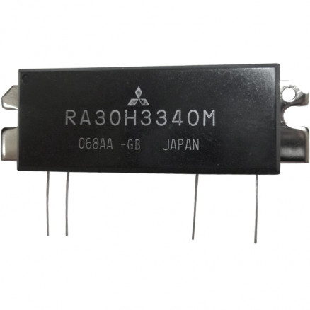RA30H3340M  RF Module, 330-400 MHz, 30 Watt, 12.5v Mitsubishi