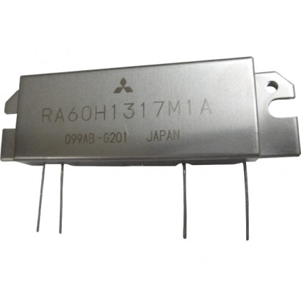 RA60H1317M1A-201 RF Module, 135-175 MHz, 60 Watt, 12.5v, Metal Case  Mitsubishi