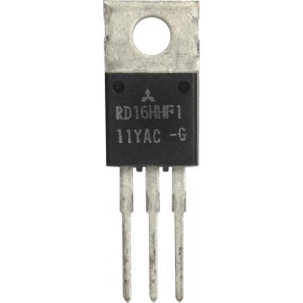 RD16HHF1-101 Transistor, 16 watt, 30 MHz, 12.5v, Mitsubishi