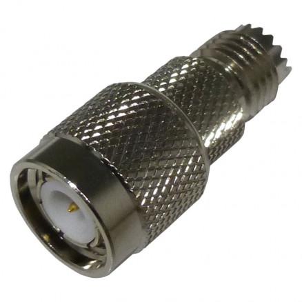 0-RFU628 Between Series Adapter, MIni-UHF Female to TNC Male, RFI