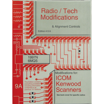 RTM9A Book, Radio Tech Mod 9A, Modifications to popular Radios