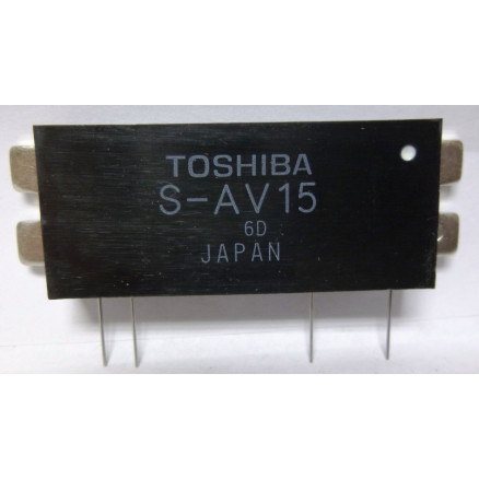 SAV15  Power Module, 30w, 220-225MHz, Toshiba (Cross for M57774)