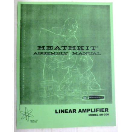 AMSB200  Assembly Manual, Heathkit SB-200
