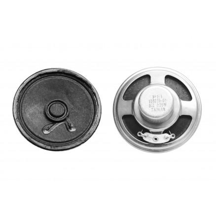 "SPK-5 Speaker, round, 2.25"", 8 ohm, 0.25 Watt, PEI"