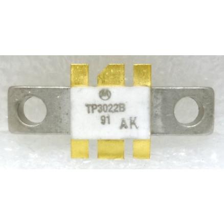 TP3022B Transistor, UHF Power, NPN Silicon, 15w, 960 MHz, 12 volt, Motorola