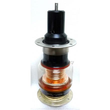 UCSL-1500-5N  Vacuum Variable Capacitor, 15-1500pf 5kv, Jennings (Clean Pullout)