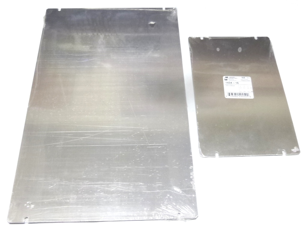 Aluminum covers, Hammond