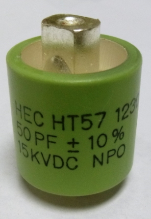DOORKNOB CAPACITOR HT57 SERIES